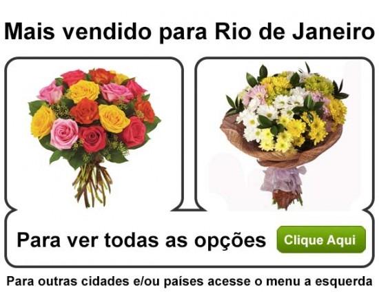 Flores para Rio de Janiero