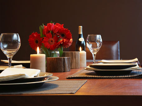 Resultado de imagem para mesa romantica